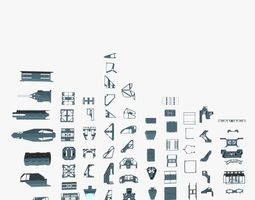 3D Detailed Kitbash Set