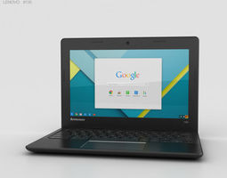 Lenovo 100S Chromebook 3D model