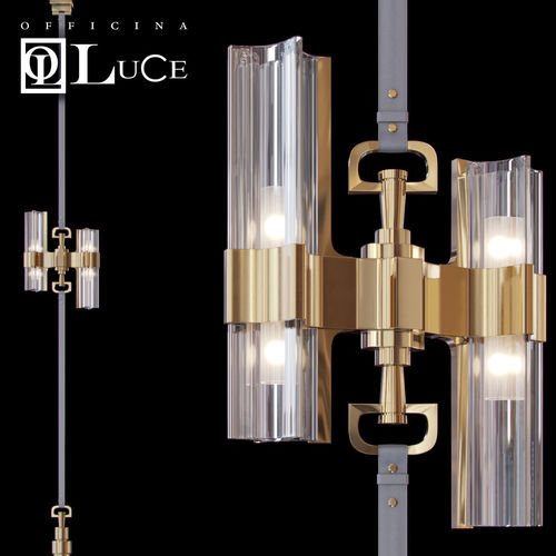 officina luce eterea floor to celing 3d model