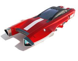 3D Flying racing car