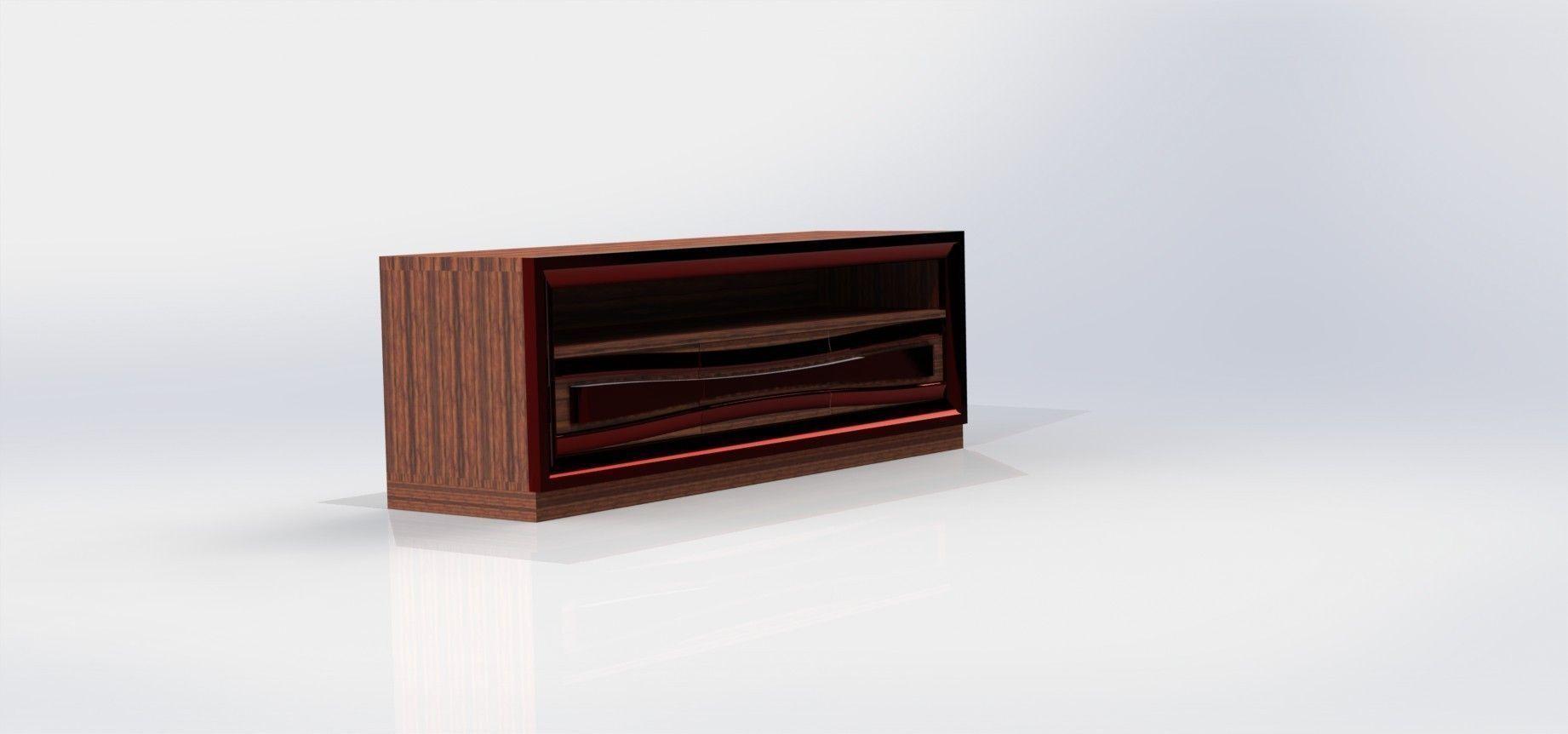 Blickfang Tv Element Sammlung Von 3d Model Stl Dwg Sldprt Sldasm Slddrw