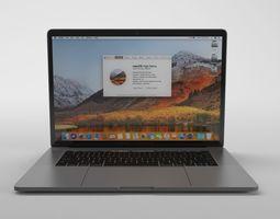 Apple Macbook Pro 15 - Element 3D rigged