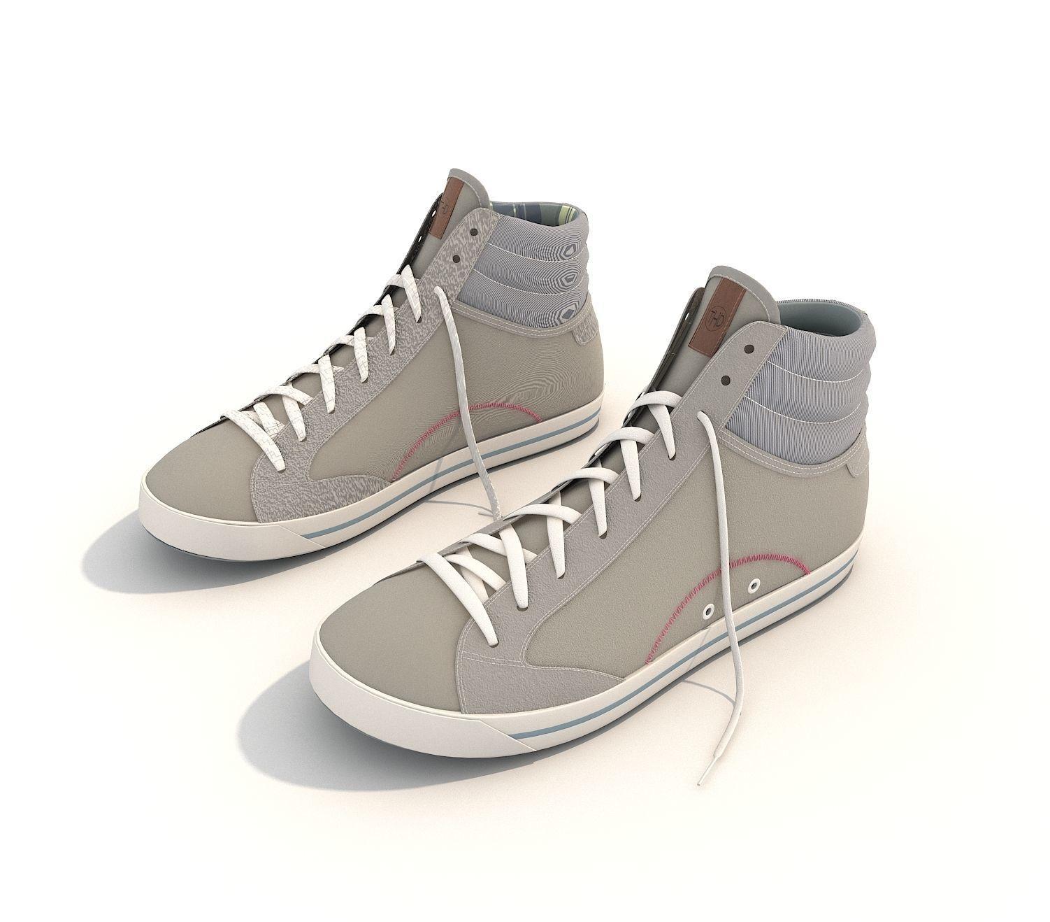 ... sport shoes 2 3d model max obj fbx mtl 3 ... 79ca314a2