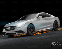 3D Mercedes S63 AMG Coup 2015