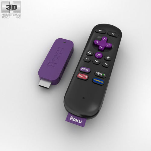 75ee83aa8d4 Roku Streaming Stick streaming 3D | CGTrader