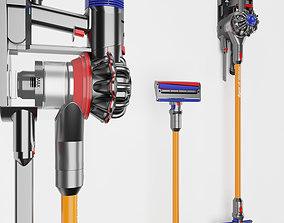 Dyson v8 wireless vacuum 3D model