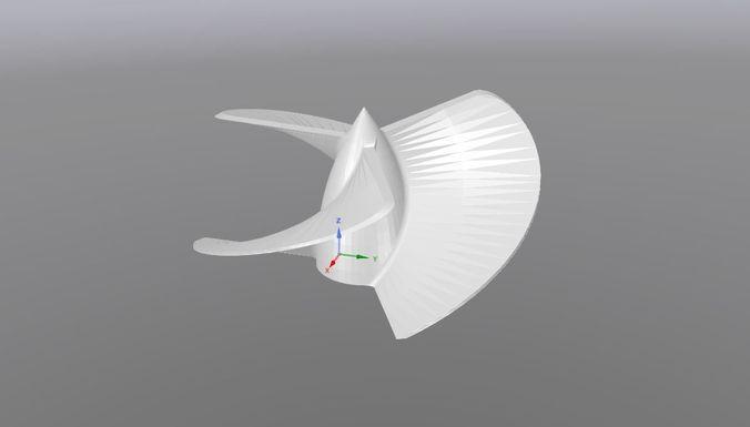 propeller 3d model stl 1