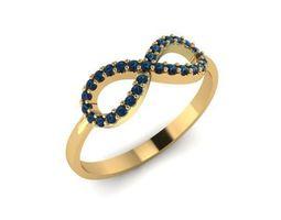 Ring model Infinity for 3D printing 3D model