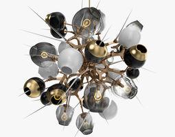 Lindsey Adelman - Burst chandelier 3D model