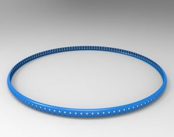 Bicycle Tire Protector 3D Model