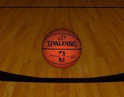 Official NBA Basket Ball 3D Model