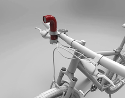 re camera bicycle mount - 3d print 3d model stl