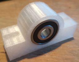 3D print model 6200RS Bearing Bracket - Pillow Block