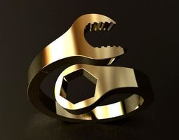 Wrench Ring 3D printable model