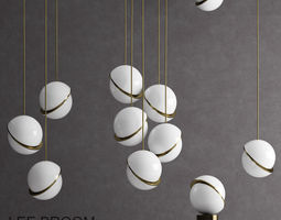 3D model Lee Broom CRESCENT pendant lighting