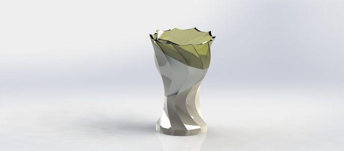 table vase3D model