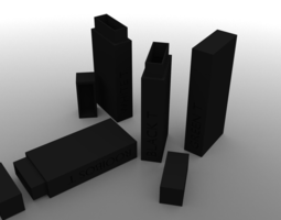 R3 Monolith Tea Box Black T 3D printable model