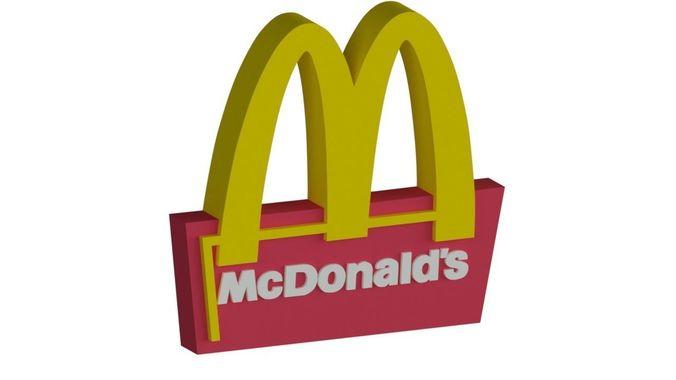 McDonalds Logo and McDonalds Sign Board