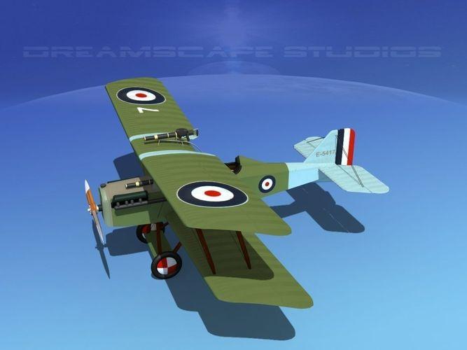 RAF SE-5A Fighter V023D model