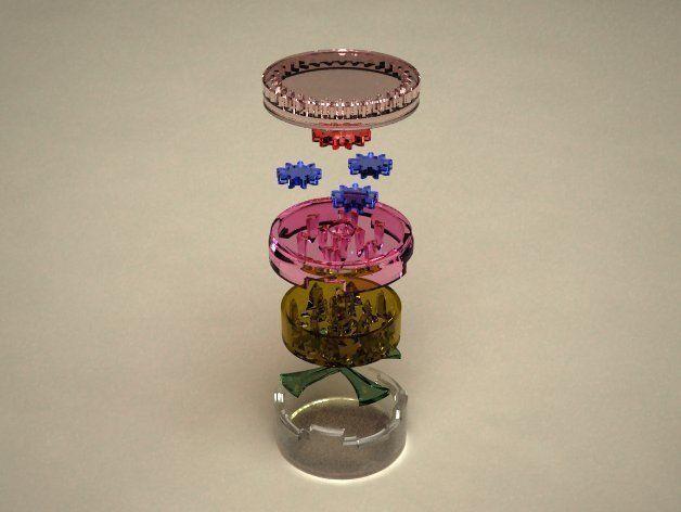 herb grinder 3d model stl 1