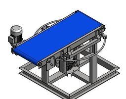 Rotating Belt conveyor 3D print model
