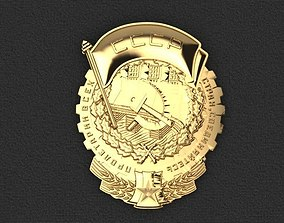 Order of Labor SSSR 3D print model