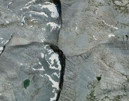 3D model Merced Peak - Yosemite
