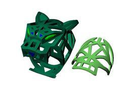 PANTERA RING jewelery 3D print model