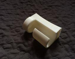 U-Lock Belt Clip 3D Model