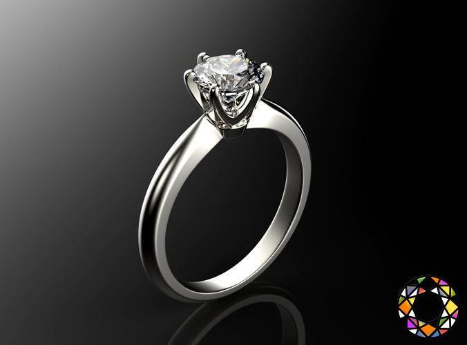 Engagement ring set 0068