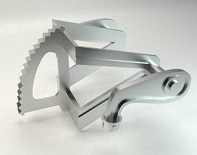 Motocycle Metal Part 3D