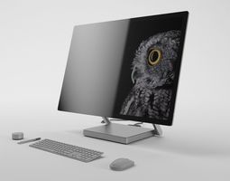 Microsoft Surface Studio - Element 3D animated