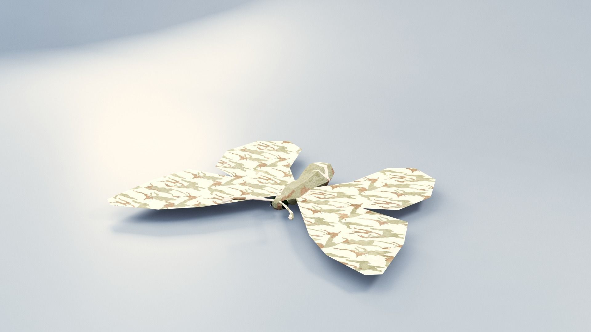 Abstract LowPoly PBR ButterFly