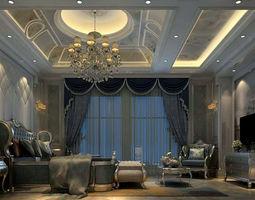 3D Bedroom - American style -9412