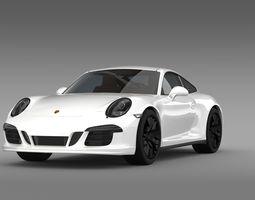 3d model porsche 911 carrera 4 gts coupe 991 2015