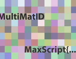 3D multimaterial multMatID