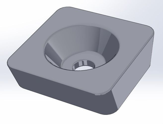 targus tripod quick disconnect plate 3d model stl 1