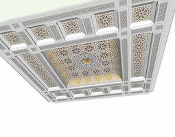 3D Islamic Ceiling Design turkish