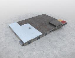 LBSF Storage 1 3D asset