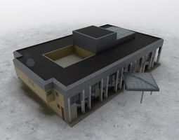 LBSF VIP Terminal 3D asset