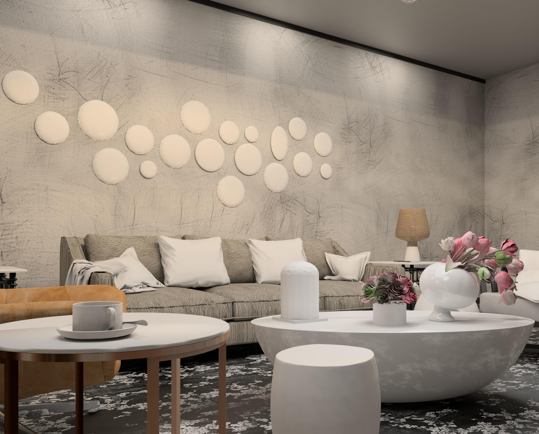 Modern living room revit and 3dmax 3d model max fbx rfa rvt 4