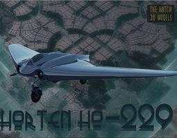 3D model Horten HO 229 German Aircraft