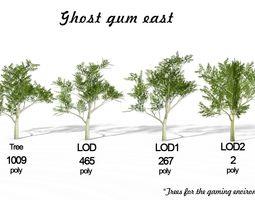 3D asset Ghost gum east