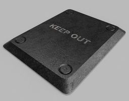 3D Keep Out Table