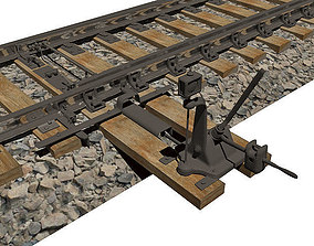 3D Railway arrow