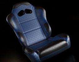 TKs Racing Seat 3D Model