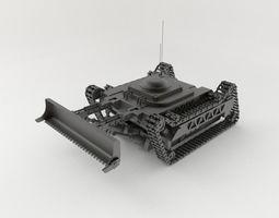 heavy Bulldozer LS 3D