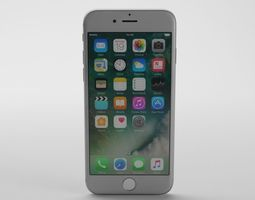 Apple iPhone 7 3D model realtime