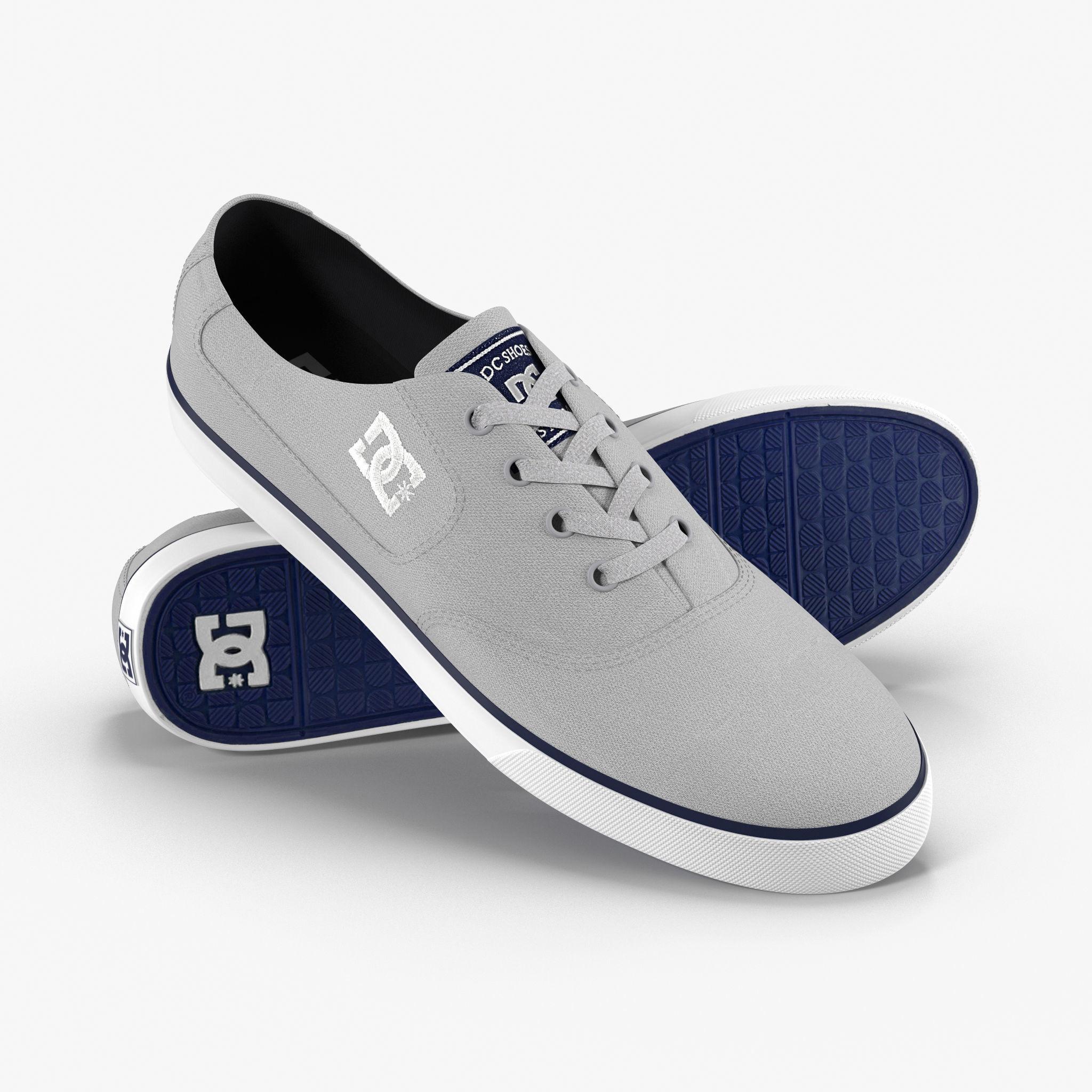 DC Shoes - Flash TX - Grey 3D model