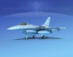3D Gen Dyn F-16A Falcon Pakistan